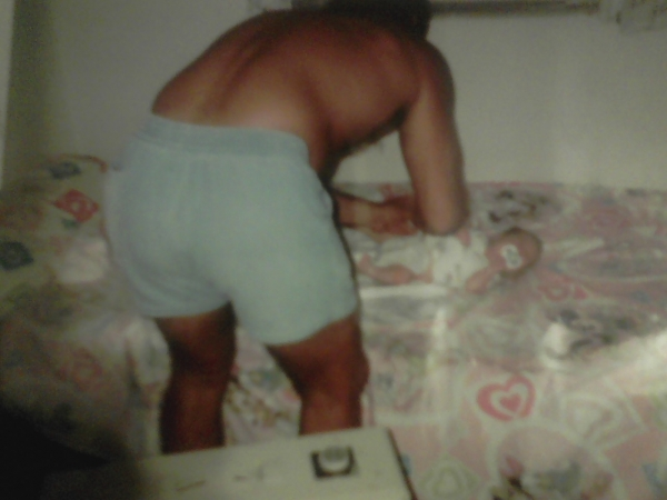 My daddy changing me